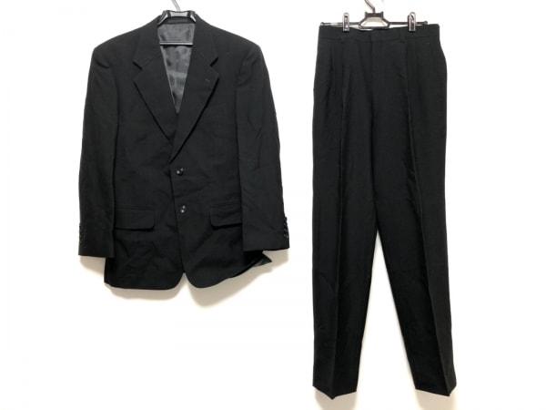 五大陸/gotairiku(ゴタイリク) シングルスーツ サイズ4M メンズ美品  黒 ネーム刺繍