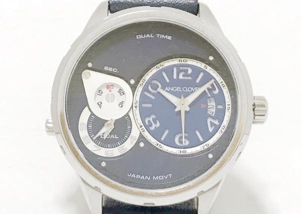 Angel Clover(エンジェルクローバー) 腕時計 DU47 メンズ クロノグラフ/革ベルト