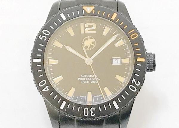 ハンティングワールド 腕時計 プロフェッショナルダイバー HW-004 メンズ