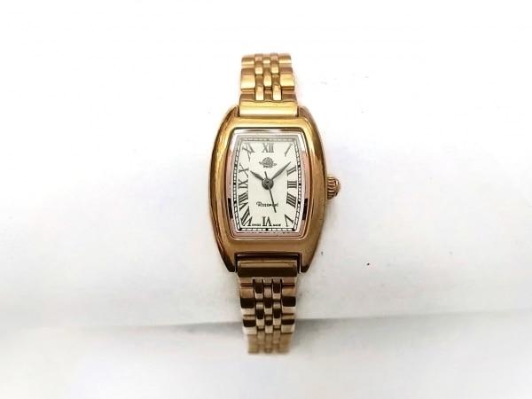 Rosemont(ロゼモン) 腕時計 RS-003 レディース 白