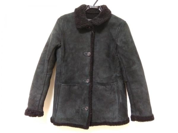 UNITED ARROWS(ユナイテッドアローズ) コート メンズ 黒 ムートン/冬物