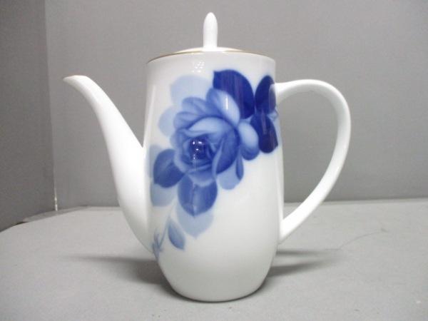 okura china(大倉陶園)(オオクラチャイナ) 食器新品同様  白×ネイビー 陶器