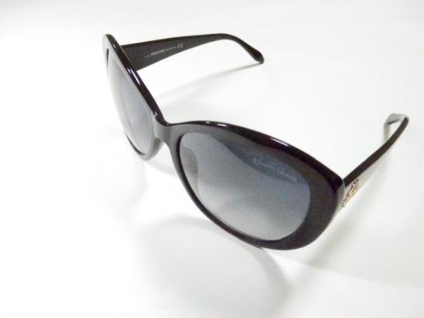 RobertoCavalli(ロベルトカヴァリ) サングラス美品  727T 黒 プラスチック
