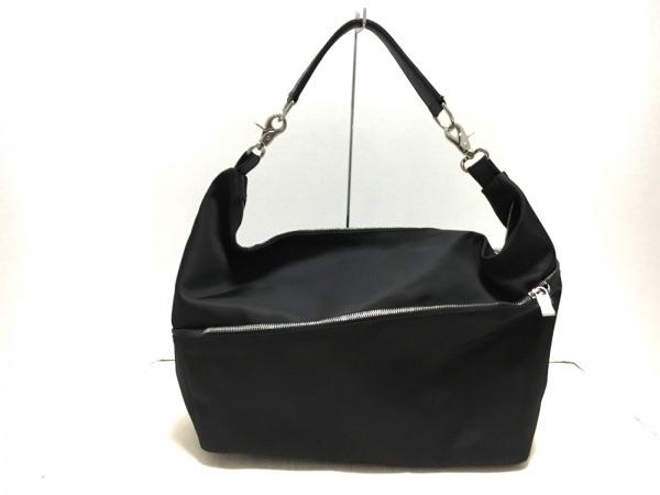 OROBIANCO(オロビアンコ) ショルダーバッグ美品  黒 ナイロン×レザー