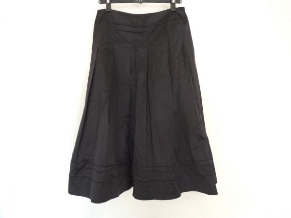 HIROKO BIS(ヒロコビス) ロングスカート サイズ11 M レディース美品  黒