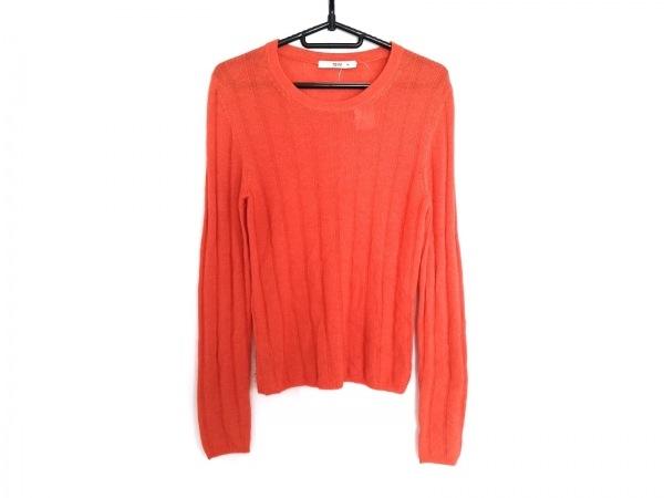 PRADA(プラダ) 長袖セーター サイズ42 M レディース オレンジ