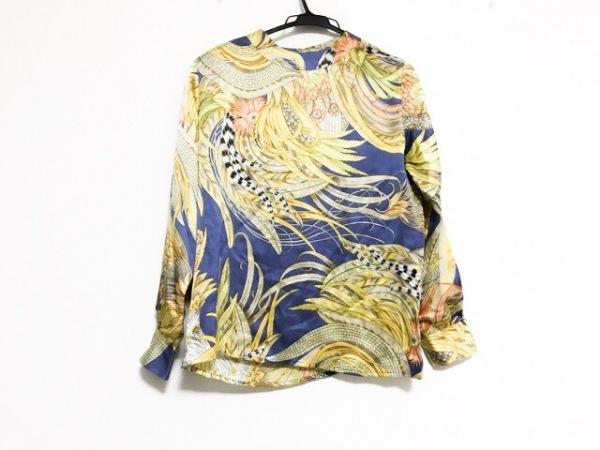 サルバトーレフェラガモ 長袖カットソー サイズ42 M レディース美品  肩パッド