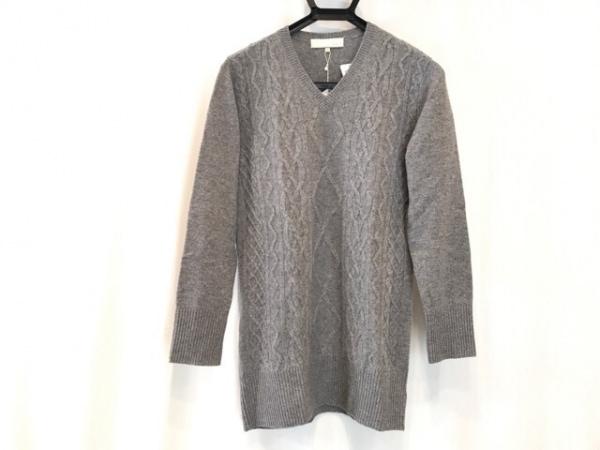 自由区/jiyuku(ジユウク) 長袖セーター サイズ32 XS レディース美品  グレー
