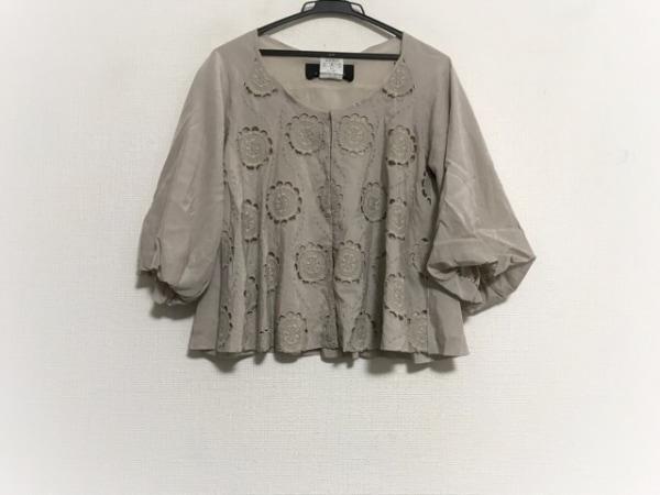 【中古】 スーヒライ SI-HIRAI ジャケット サイズ38 M レディース ベージュ
