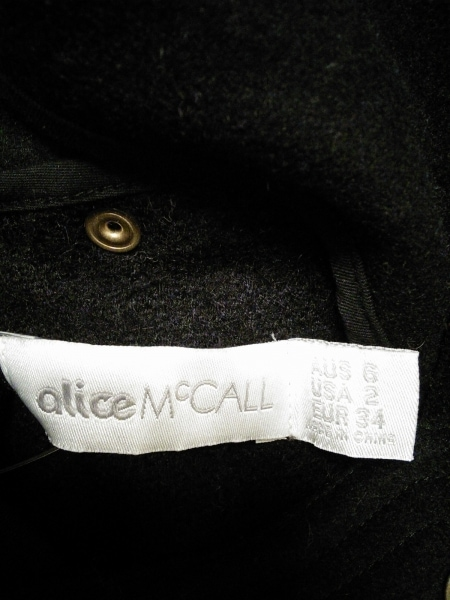 ALICE MCCALL(アリス マッコール) コート レディース 黒 冬物
