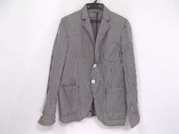 MICHAEL TAPIA(マイケルタピア) ジャケット サイズS メンズ 黒×白×ライトグレー