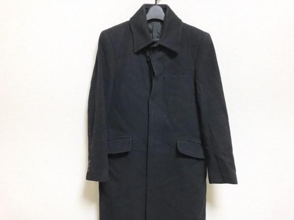 スクープマン コート サイズM メンズ美品  黒×グレー Real Man Real Style肩パッド