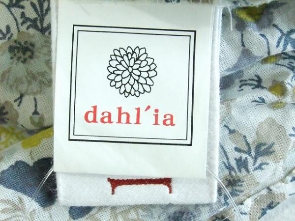 dahl'ia(ダリア) ワンピース レディース 白×ブルー×マルチ 花柄