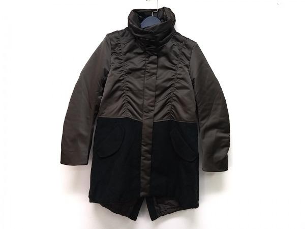ギャバジンケーティ コート サイズ9 M レディース カーキ×ダークグリーン 冬物