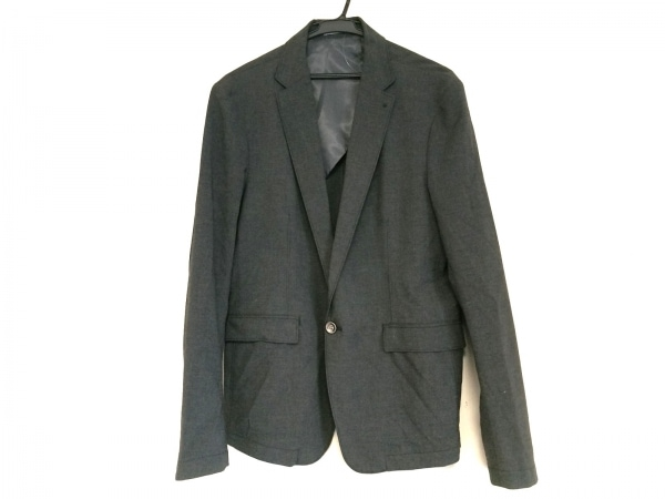 HIDEAWAYS NICOLE(ハイダウェイニコル) ジャケット サイズ50 メンズ ダークグレー