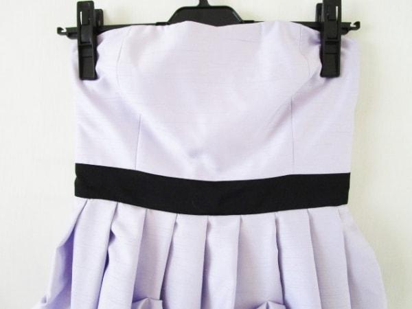 DREANG(ドレアング) ドレス サイズS レディース パープル×黒 ベアトップ