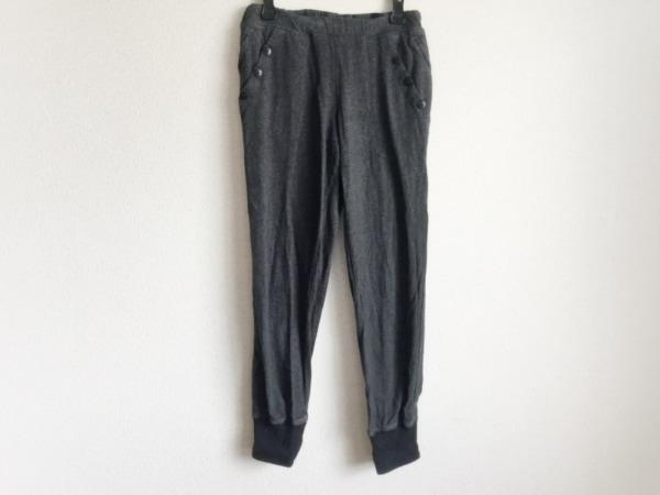 Y-3(ワイスリー) パンツ サイズXXS XS レディース ダークグレー×黒 adidas