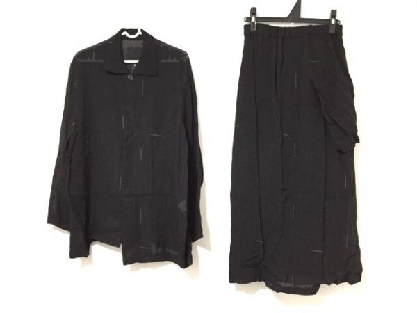 pour deux(プルドゥ) スカートセットアップ サイズM レディース 黒×白