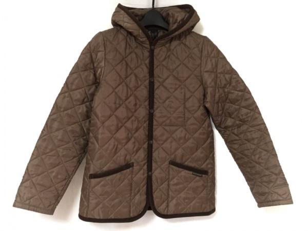 ラベンハム ブルゾン サイズ40 M レディース美品  ブラウン 冬物/キルティング