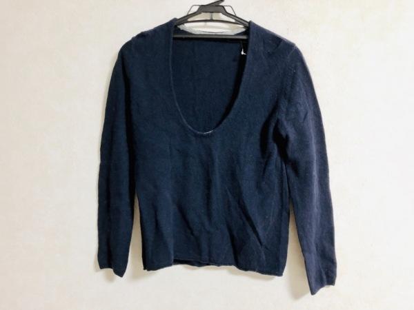 パラスパレス トオカ 長袖セーター サイズ0 XS レディース ダークネイビー
