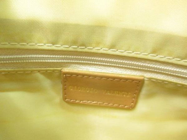 Giorgio Valenti(ジョルジオ バレンチ) ハンドバッグ ベージュ×カーキ×マルチ