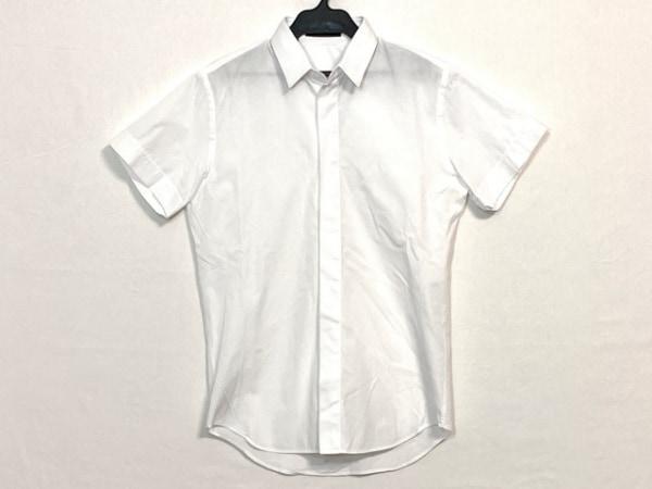 LITHIUMHOMME(リチウムオム) 半袖シャツ サイズ44 L メンズ 白