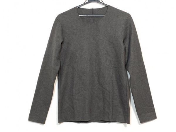 カズユキクマガイ 長袖セーター サイズ1 S メンズ美品  ダークグレー