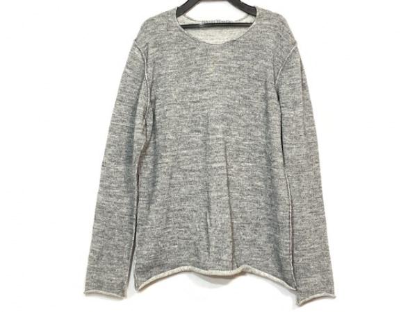 KAZUYUKI KUMAGAI(カズユキクマガイ) 長袖セーター サイズ1 S メンズ美品  グレー