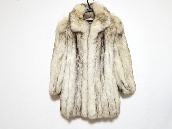 SAGA FOX(サガフォックス) コート サイズ9 M レディース美品  アイボリー 冬物