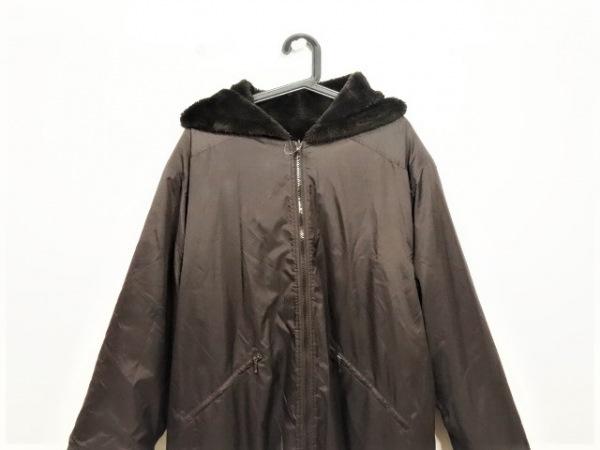 YURIE NITANI(ニタニユリエ) コート レディース ダークブラウン リバーシブル/冬物