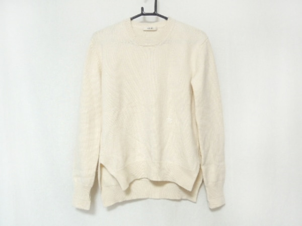da4ce9e6f510 CELINE(セリーヌ) 長袖セーター サイズXS レディース アイボリーの古着 ...