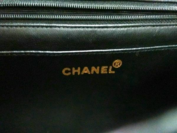CHANEL(シャネル) ショルダーバッグ マトラッセ 黒 ラムスキン 6