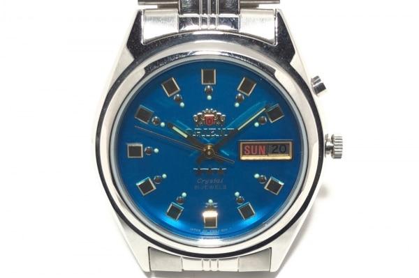 ORIENT(オリエント) 腕時計 スリースター EM4J-CO CA レディース ブルー