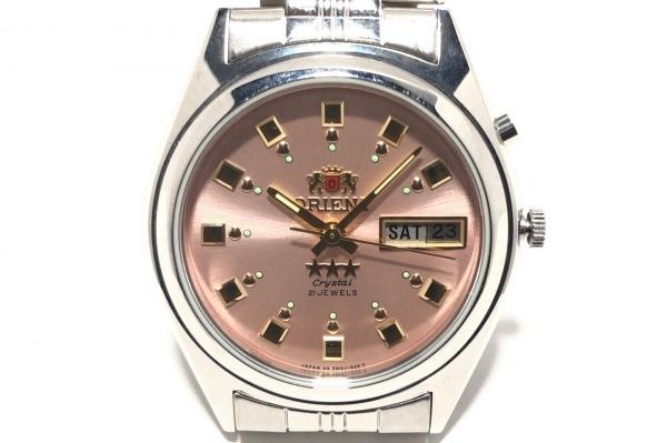 ORIENT(オリエント) 腕時計 スリースター EM4J-CO CA レディース ピンク