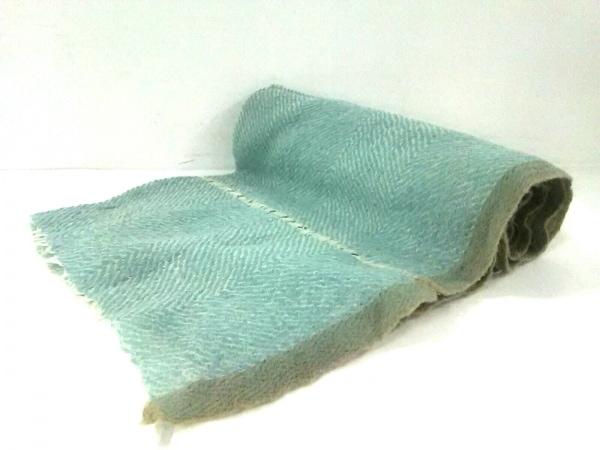 EPICE(エピス) ストール(ショール)美品  ライトブルー×白×グレー ウール
