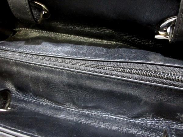 シャネル トートバッグ美品  パリビアリッツトートPM 黒×グレー 8