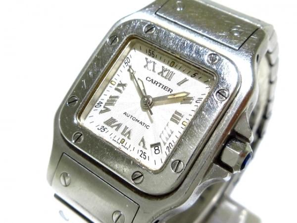 Cartier(カルティエ) 腕時計 サントスガルベSM W20044D6 レディース SS シルバー
