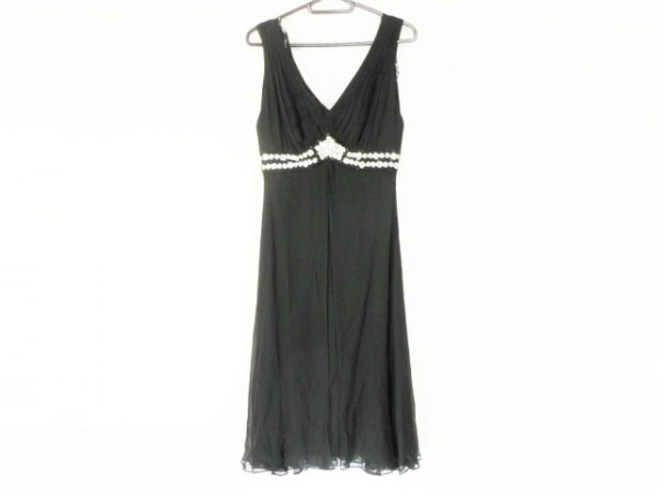 TADASHISHOJI(タダシショージ) ドレス サイズ0 XS レディース 黒 ビーズ