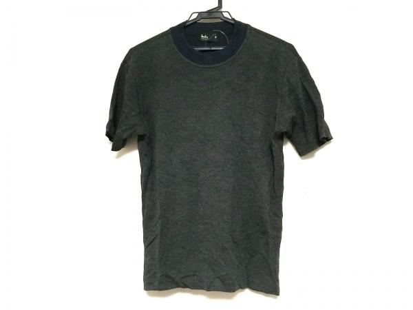 kolor(カラー) 半袖Tシャツ サイズ2 M メンズ ダークグレー×ネイビー