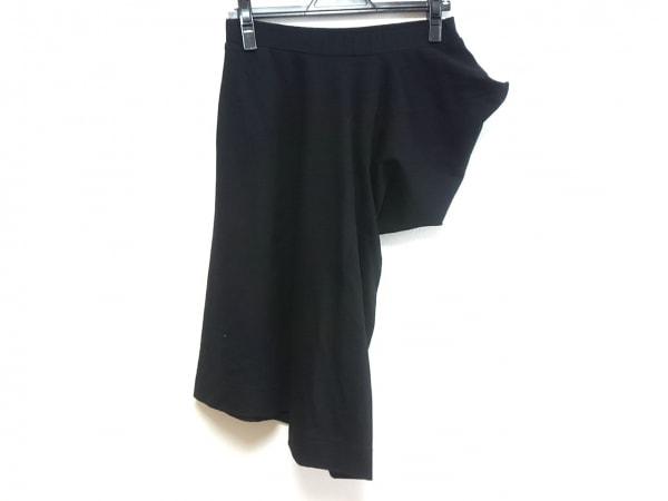 Y-3(ワイスリー) スカート レディース 黒×白 adidas/変形デザイン