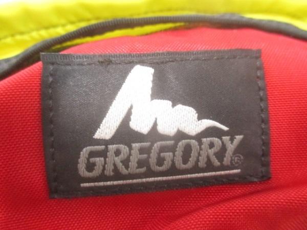GREGORY(グレゴリー) ウエストポーチ イエロー×レッド×黒 ナイロン