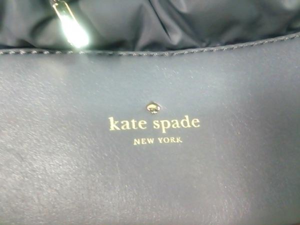 Kate spade(ケイトスペード) トートバッグ PXRU4547 グレー ナイロン×レザー