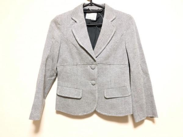 23区(ニジュウサンク) ジャケット サイズ38 M レディース 白×黒