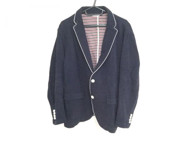 Lacoste(ラコステ) ジャケット サイズ52/5 メンズ ダークネイビー×白