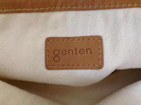 genten(ゲンテン) トートバッグ ブラウン レザー