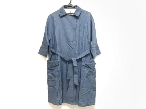 LOISIR(ロワズィール) コート サイズ38 M レディース ライトブルー 春・秋物