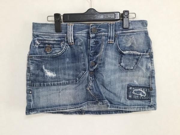 タバニティソージーンズ ミニスカート サイズ27 M レディース ネイビー