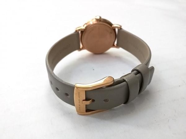 マークジェイコブス 腕時計 MBM1318 レディース 革ベルト ベージュ