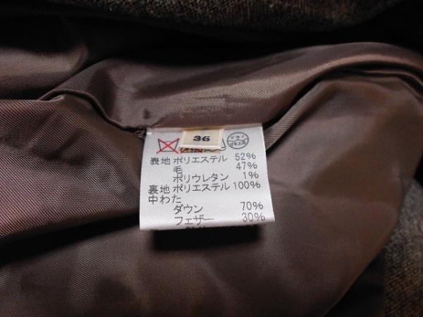 ROPE(ロペ) ダウンコート サイズ36 S レディース美品  グレーベージュ 冬物