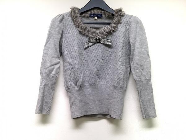 M'S GRACY(エムズグレイシー) 長袖セーター サイズ38 M レディース グレー